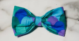 Mermaid Scale Bow Tie - Go Local Pets