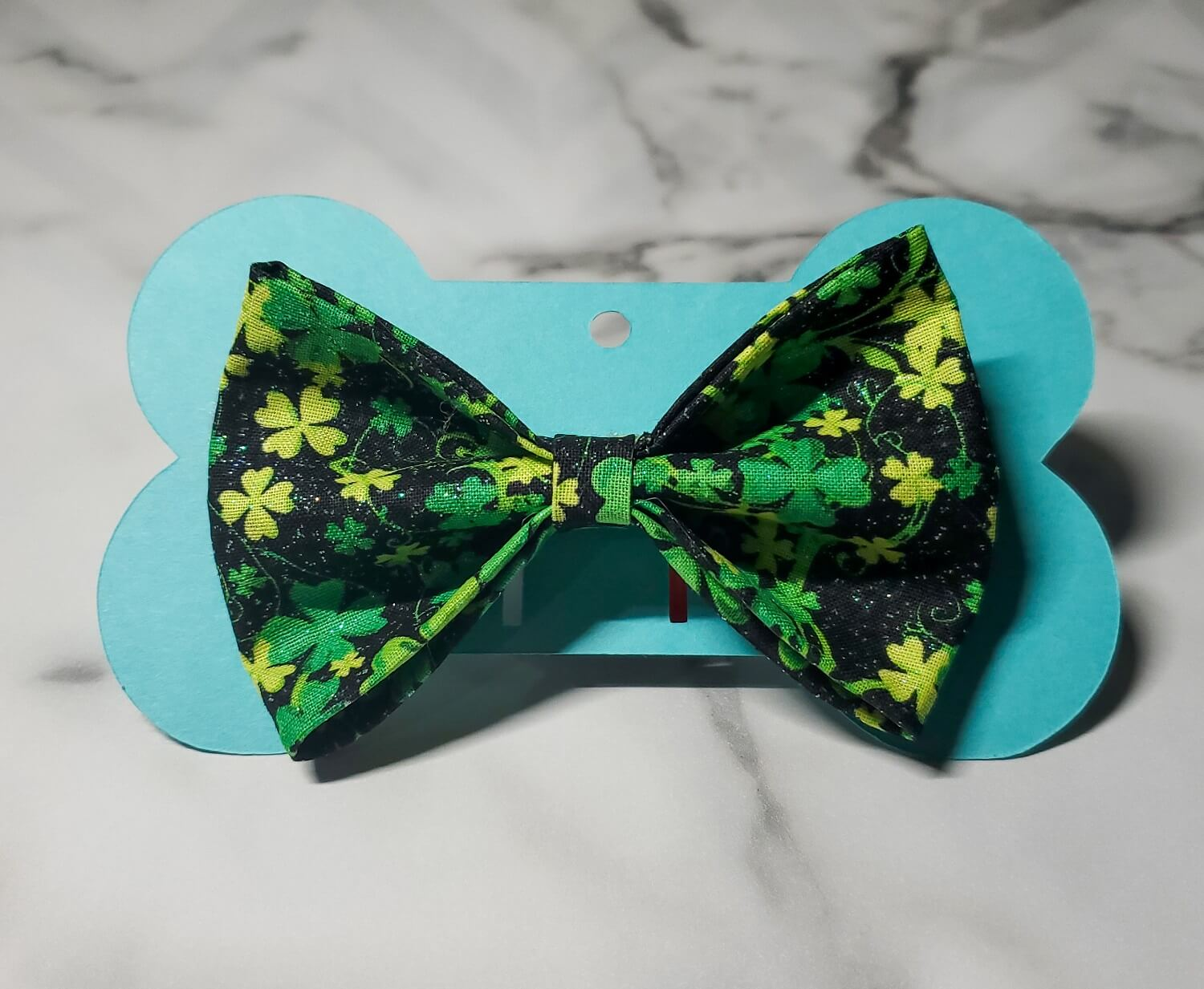 4-Leaf Clover Bow tie
