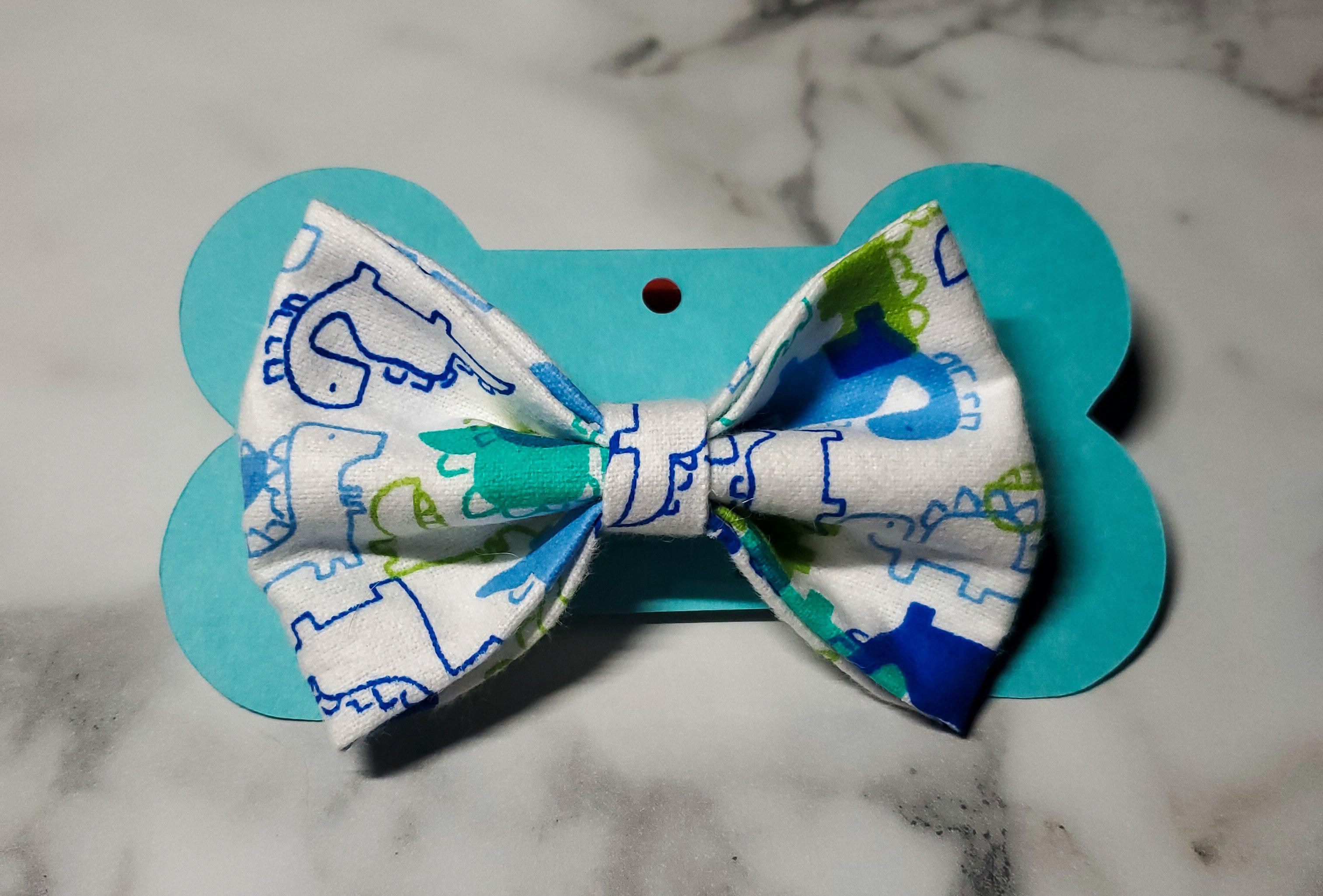 Dino Bowtie-Go Local Pets
