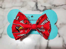 Louisville Cardinals Bowtie - Go Local Pets