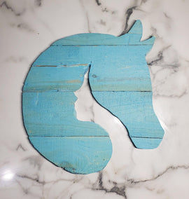 Circular Horse Lover Wall Decor - Go Local Pets