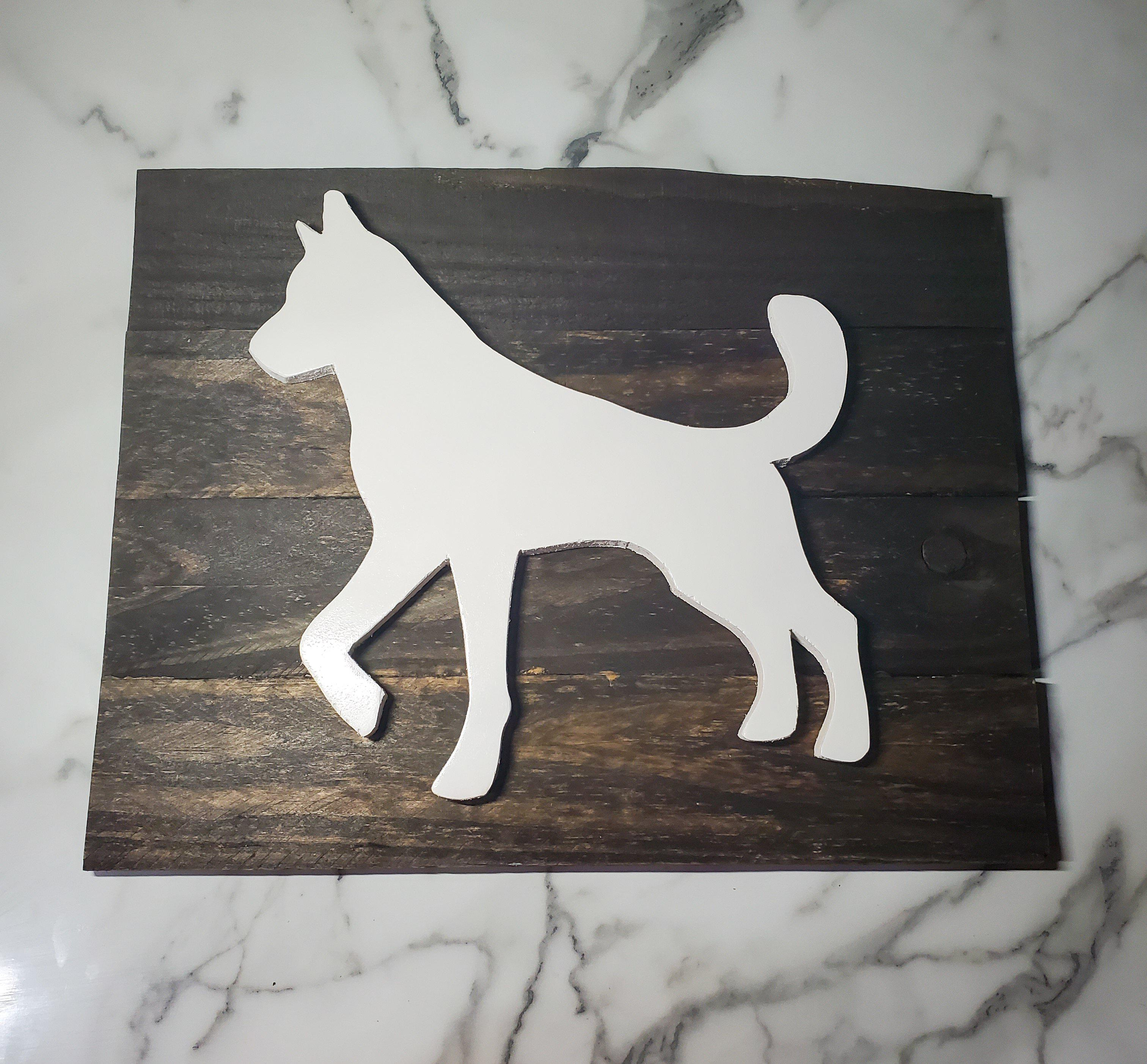 Siberian Husky Wall Decor-Go Local Pets