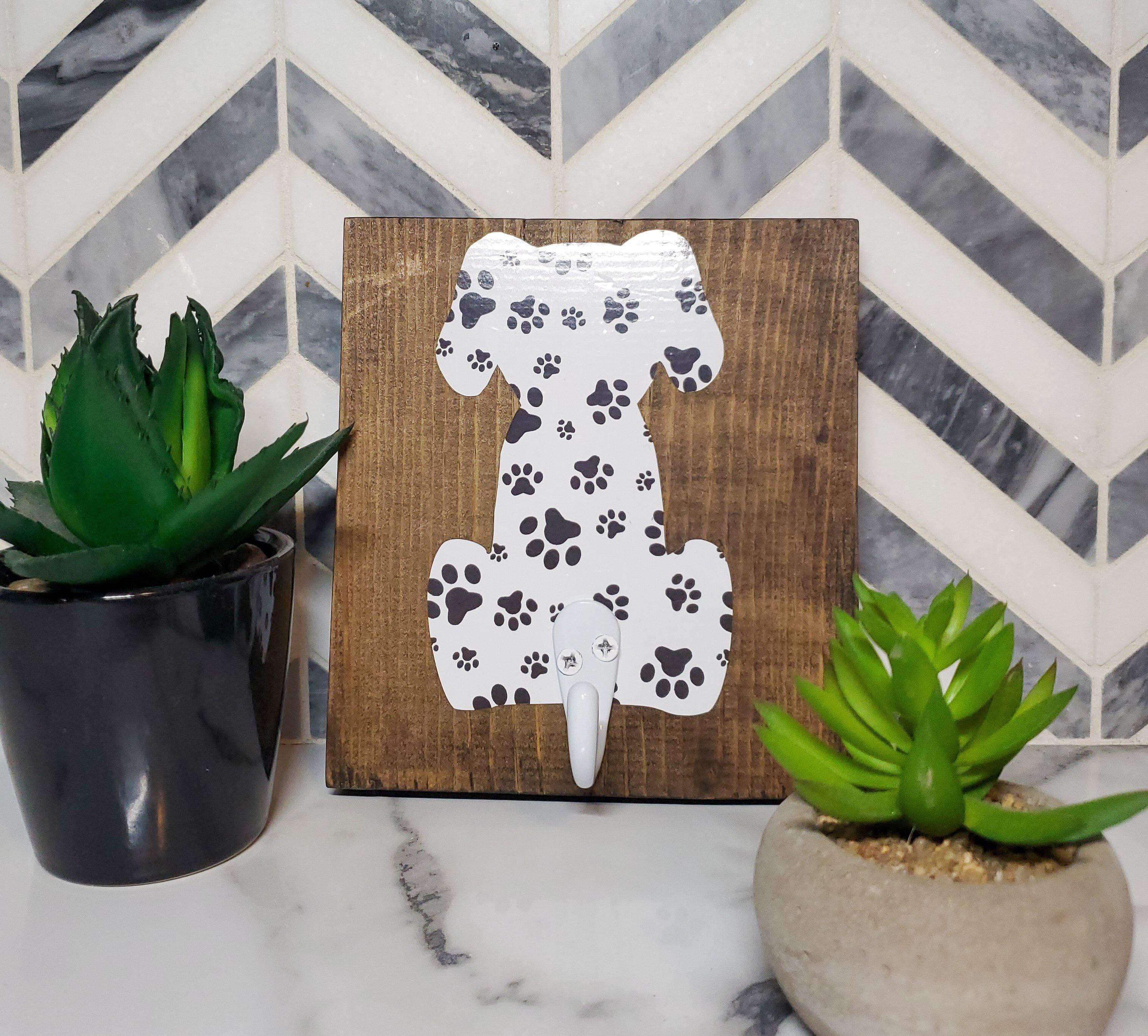 Paw Print Dog Leash Hanger-Go Local Pets