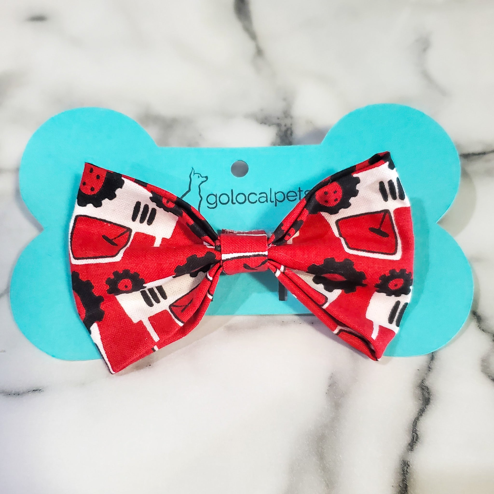 Red Tractor Bowtie