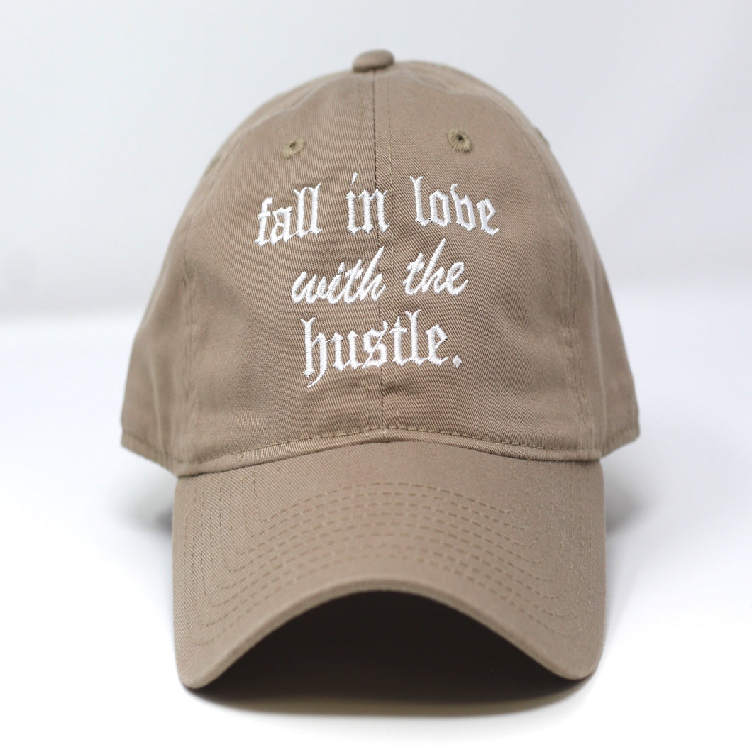Love The Hustle Dad Hat