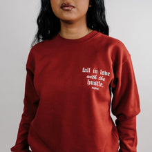 Load image into Gallery viewer, Love The Hustle Sweater - Cardinal Red