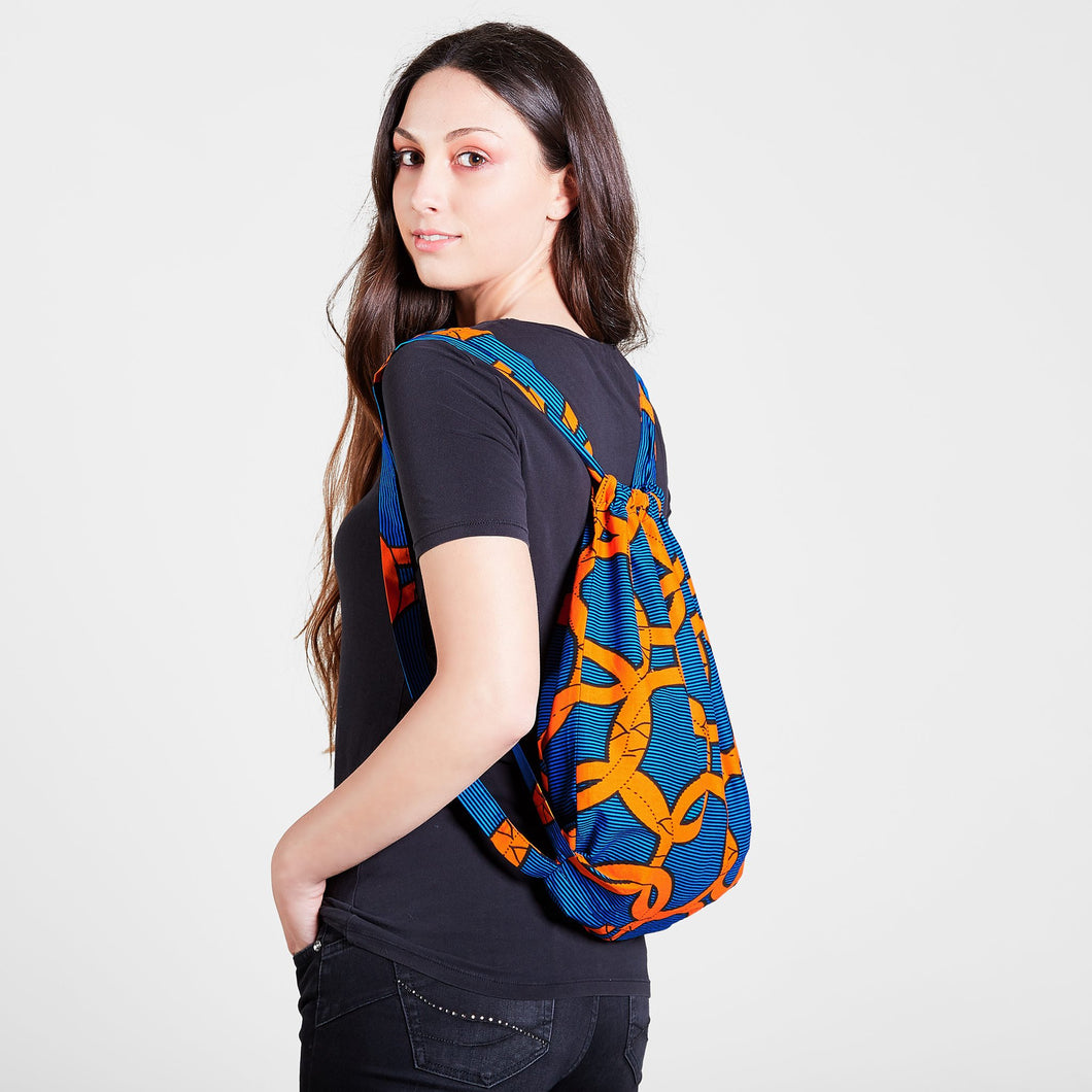 Backpack Orange Knots
