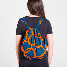 Load image into Gallery viewer, Backpack Orange Knots