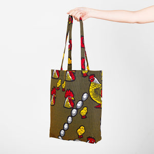 Tote Bag Chicken Dance