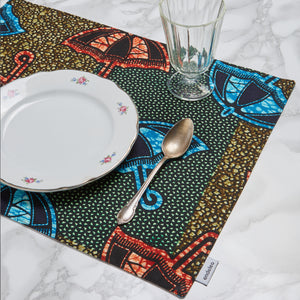 Double-Sided Place Mat Singing in the Rain