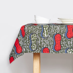 Tablecloth Red Peanuts