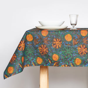 Tablecloth Orange Cinnamon