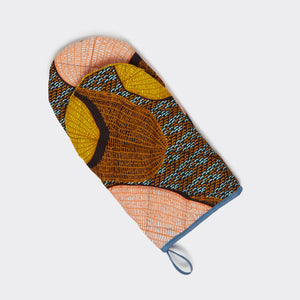 Quilted Oven Mitt Loofah Love