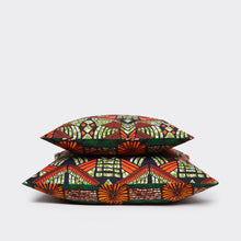 Load image into Gallery viewer, Two-Tone Pillowcase Contemporary Tribal