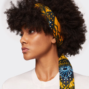 Samosa Headwrap Golden Idea