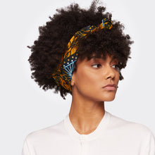 Load image into Gallery viewer, Samosa Headwrap Golden Idea