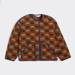 Reversible Quilted Jacket Loofah Love