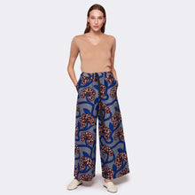Load image into Gallery viewer, Palazzo pants Blue Romance