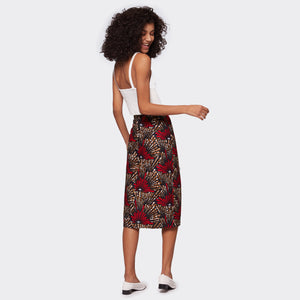 Pencil skirt Ruby Fireworks