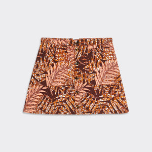 Buttoned mini skirt Tropical Breeze