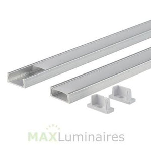 Aluminum Extrusion 1 LED Strip- 4 FT- QTY 2