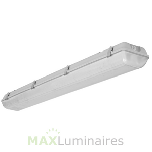 LED 4' Vapor Tight Linear Fixture- 40W- 10 yr warranty