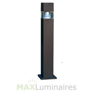"42"" Fiberglass Bollard with 20W LED- Sqaure"