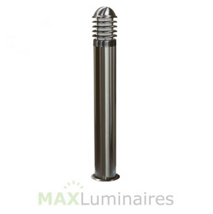"43.5"" Stainless Steel Bollard with 20W LED- Marine Grade"