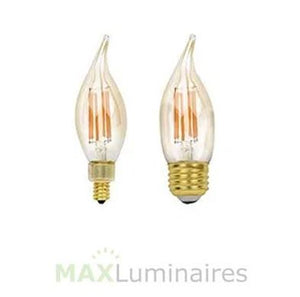 LED Filament Candelabra- Case of 10