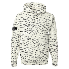 Custom Lyric Graffiti Hoodie (Limited)