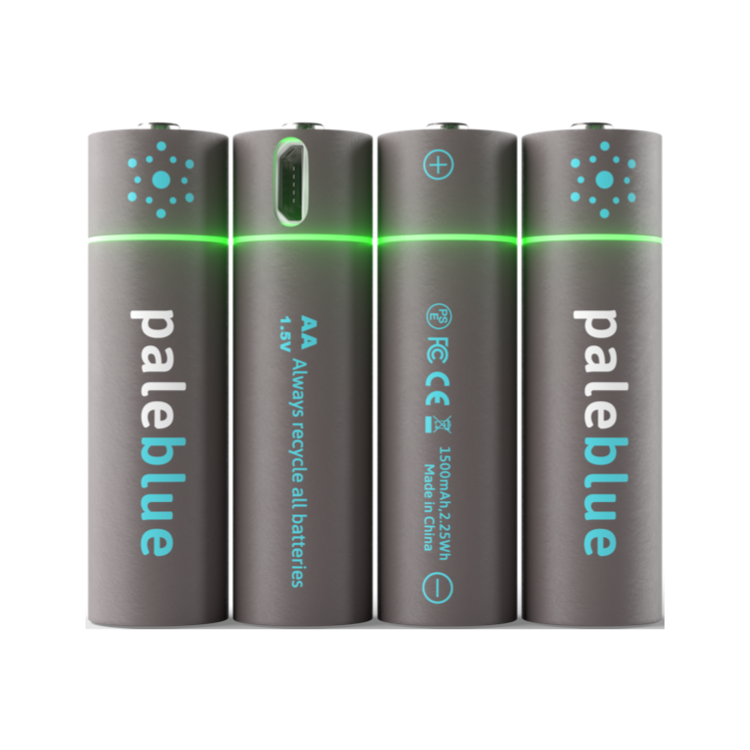piles rechargeables USB AA