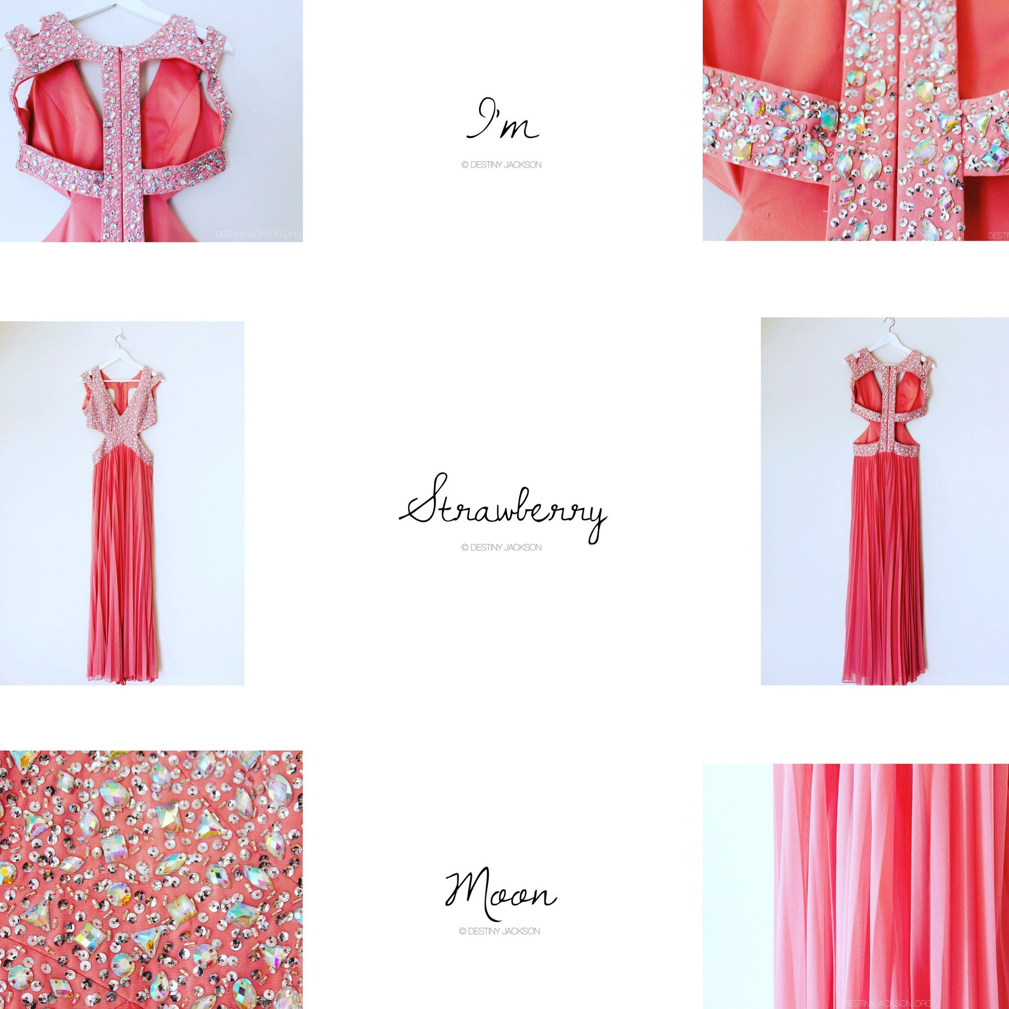 Strawberry Moon Gown