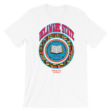 Delaware State University Kente T-Shirt - historically black apparel, hbcu,greek,black college,black athletes,black history,divine nine
