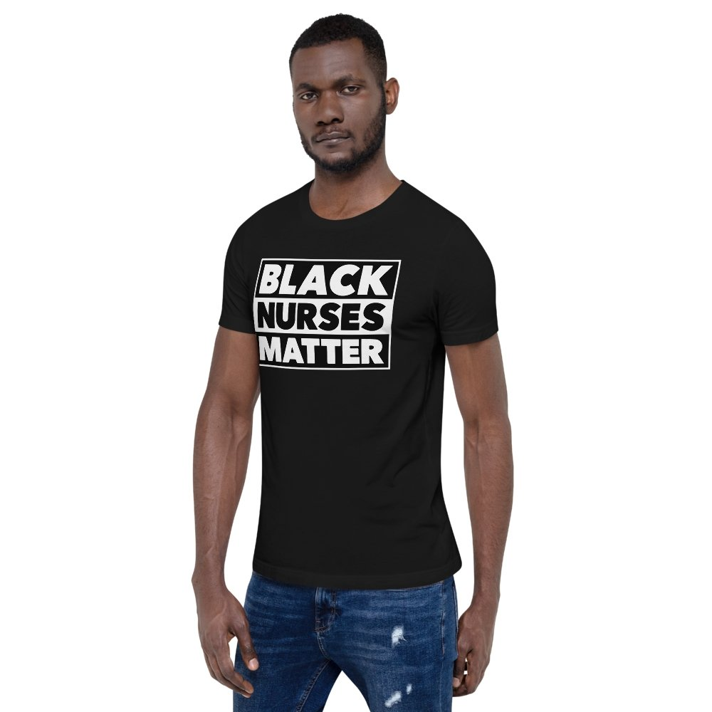 Black Nurses Matter Box Tee - historically black apparel, hbcu,greek,black college,black athletes,black history,divine nine