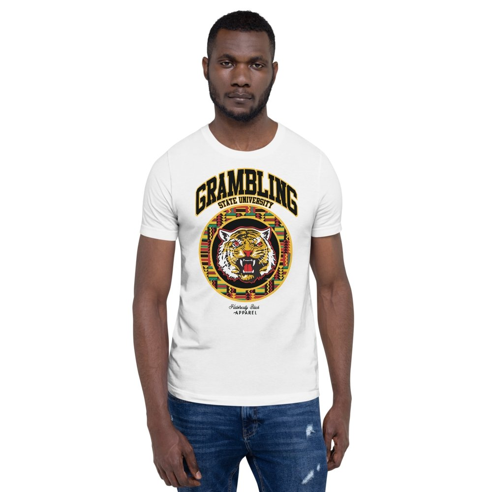 Grambling State University Kente T-Shirt - historically black apparel, hbcu,greek,black college,black athletes,black history,divine nine