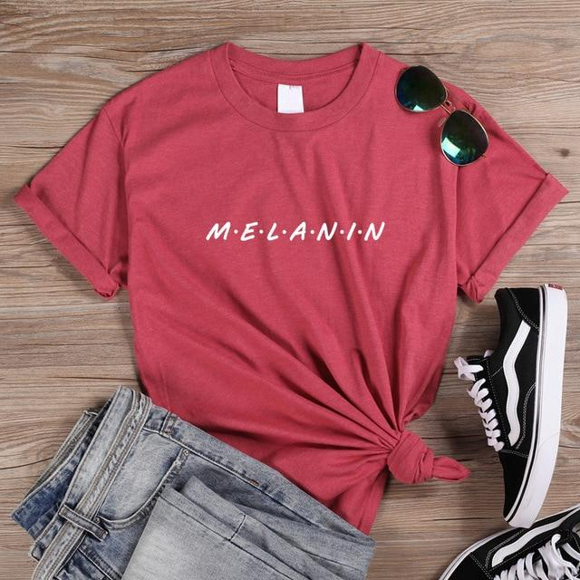 Melanin Friends T Shirts - historically black apparel, hbcu,greek,black college,black athletes,black history,divine nine