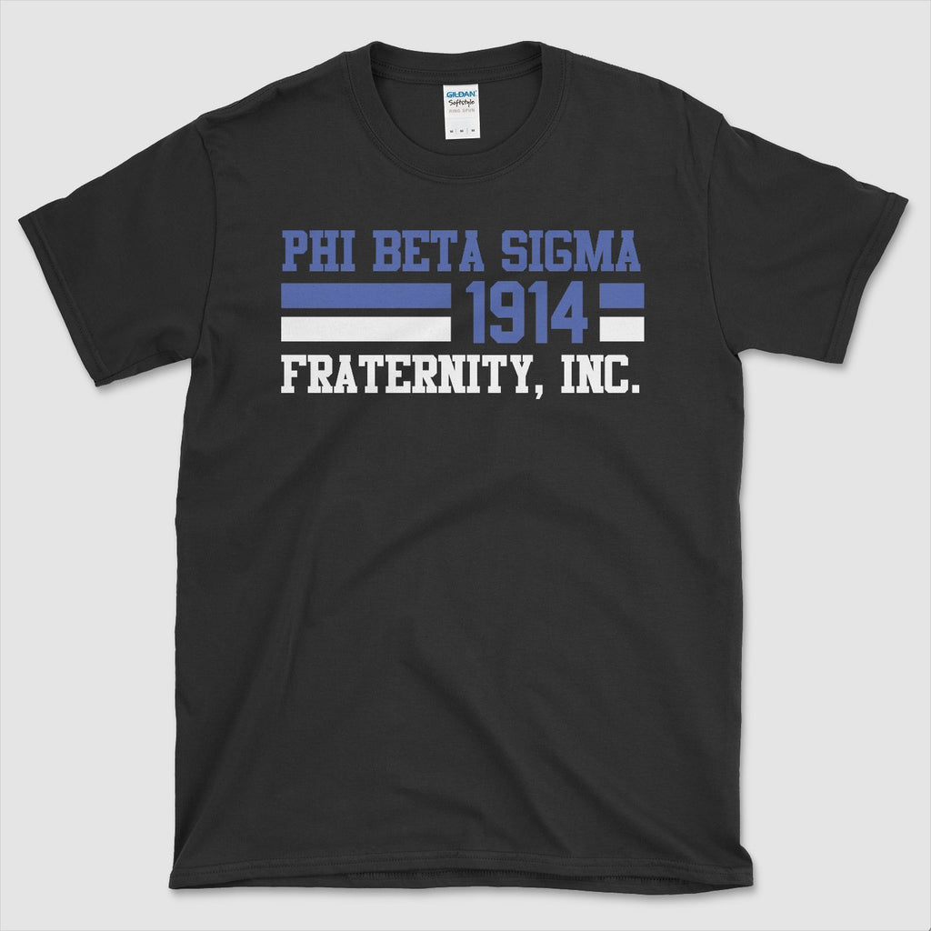 Phi Beta Sigma Sprint T-Shirt - historically black apparel, hbcu,greek,black college,black athletes,black history,divine nine