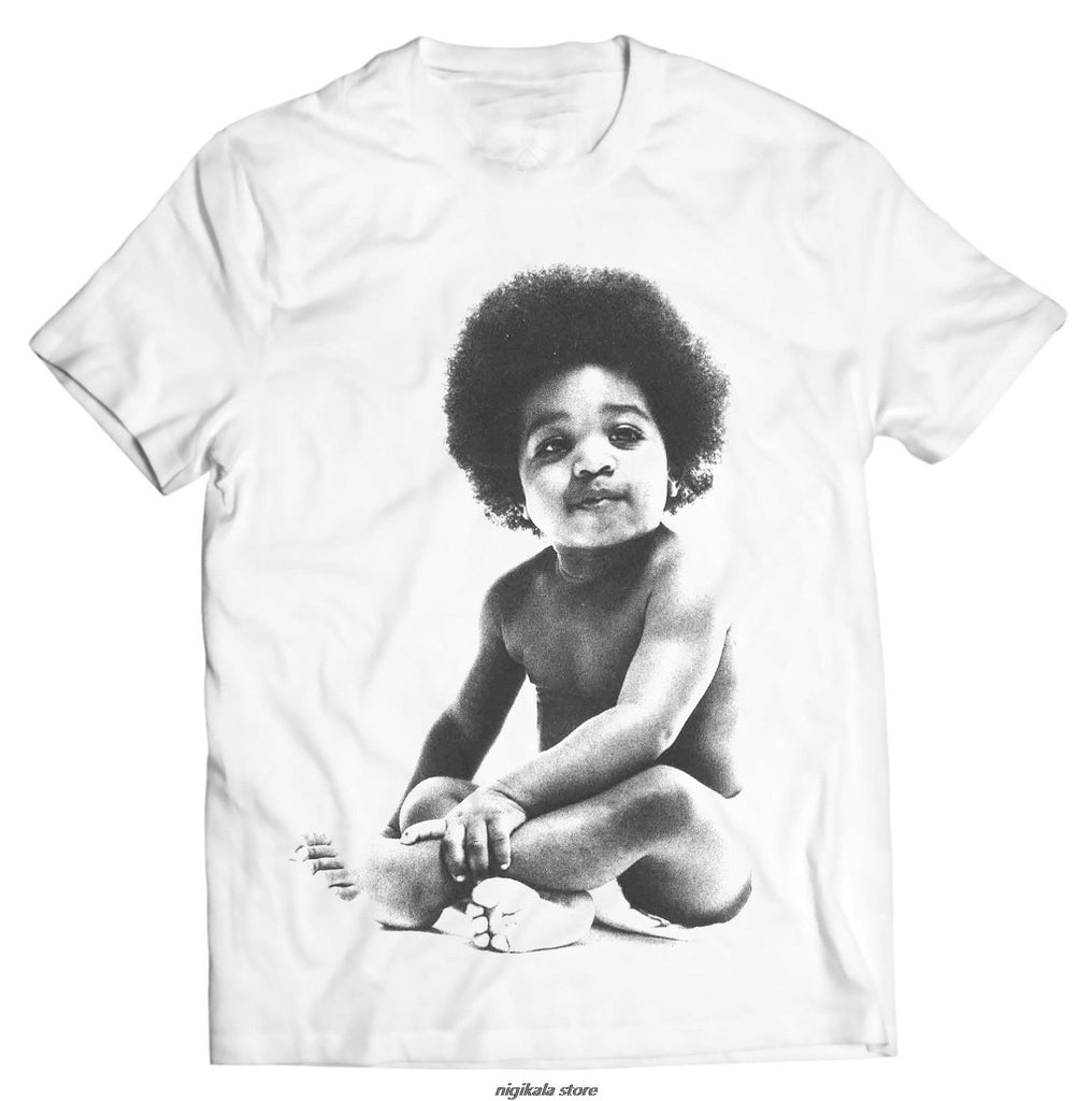 Ready to Die Baby Notorious B.I.G T-Shirt - historically black apparel, hbcu,greek,black college,black athletes,black history,divine nine