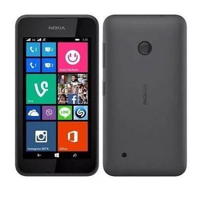 New Condition Boxed Nokia Lumia 530 Dark Grey Unlocked Windows Smartphone