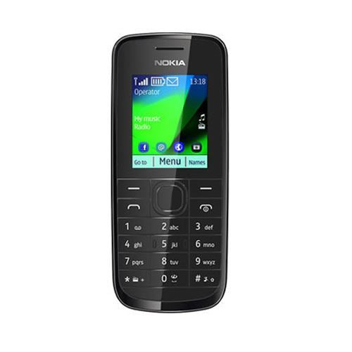 Nokia 109 Black Unlocked Basic Mobile Phone - Grade A