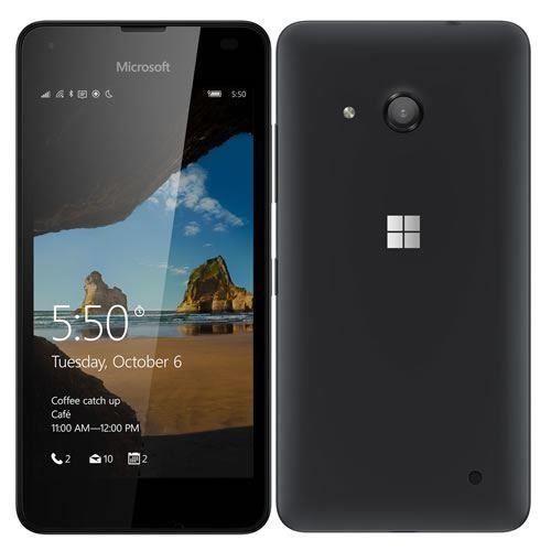 Good Condition Microsoft Lumia 550 Black Vodafone Locked 4G Smartphone