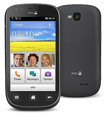 Excellent Condition Doro Liberto 810 Grey/Black EE Locked Smartphone - Warranty