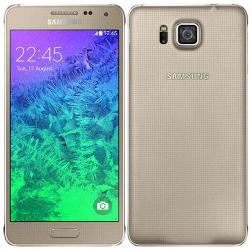 Samsung Galaxy Alpha 32GB Unlocked Frosted Gold Grade B Standard VAT