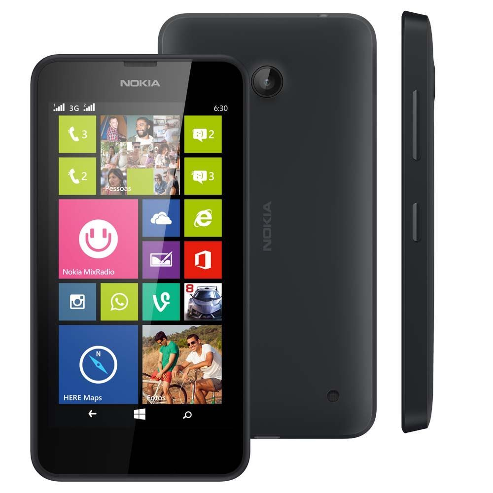 Nokia Lumia 630 Smartphone - Black - Faulty (Audio jack) - Spares Parts
