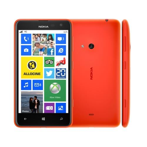 New Condition Nokia Lumia 625 8GB Red Unlocked Smartphone 12M Warranty