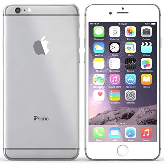 Apple iPhone 6 Plus 64GB Unlocked Silver Grade A - Marginal VAT