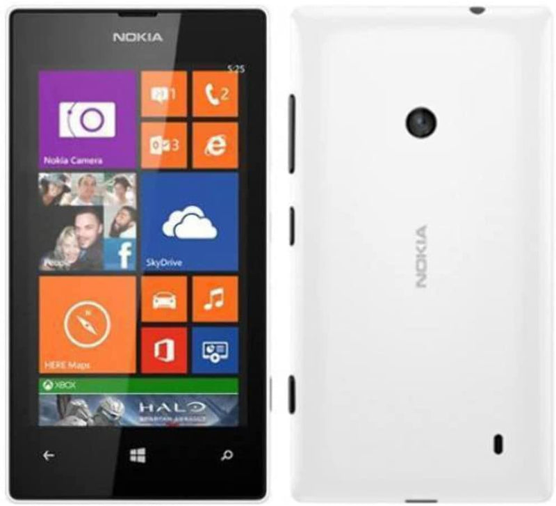Good Condition Nokia Lumia 525 8GB White Unlocked Windows Smartphone