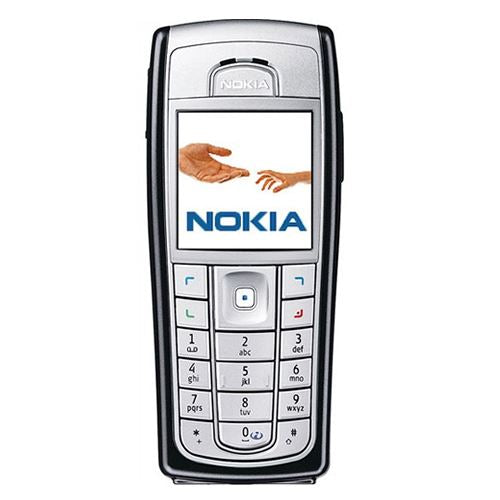 New Condition Boxed Nokia 6230i Silver Unlocked Retro Mobile Phone