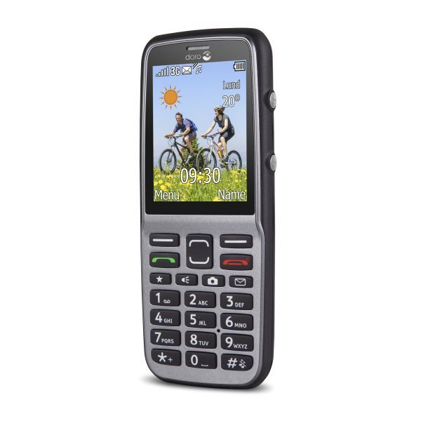 New Condition Doro PhoneEasy 530x Splash Proof Unlocked Mobile Phone - Warranty
