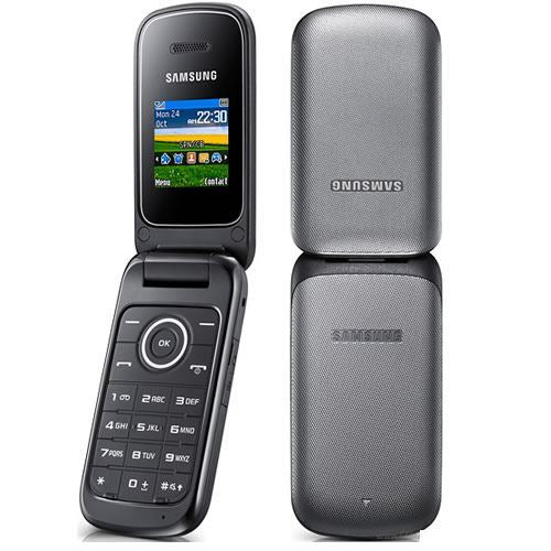 NEW CONDITION SAMSUNG E1190 BLACK FLIP CHEAP MOBILE PHONE - UNLOCKED